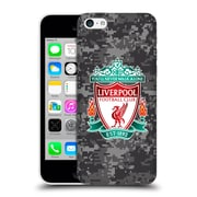 Official Liverpool Football Club Digital Camouflage Away Colours Crest Hard Back Case For Apple Iphone 5C