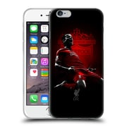 Official Liverpool Football Club Red Pride Countinho Soft Gel Case For Apple Iphone 6 / 6S