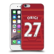 Official Liverpool Football Club Players Home Kit 16/17 Group 2 Origi Soft Gel Case For Apple Iphone 6 / 6S