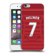 Official Liverpool Football Club Players Home Kit 16/17 Group 2 Milner Soft Gel Case For Apple Iphone 6 / 6S