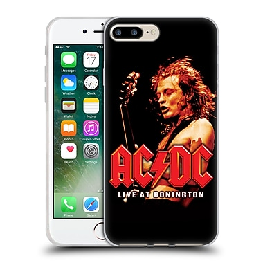 Official Ac/Dc Acdc Album Art Live At Donington Soft Gel Case For Apple Iphone 7 Plus