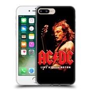 Official Ac/Dc Acdc Album Art Live At Donington Soft Gel Case For Apple Iphone 7 Plus