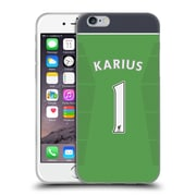 Official Liverpool Football Club Players Home Kit 16/17 Group 2 Karius Soft Gel Case For Apple Iphone 6 / 6S