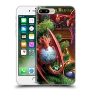 Official Anne Stokes Yule Magical Arrival Soft Gel Case For Apple Iphone 7 Plus