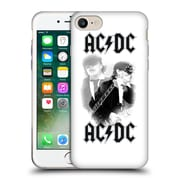 Official Ac/Dc Acdc Solo Angus Young White Soft Gel Case For Apple Iphone 7