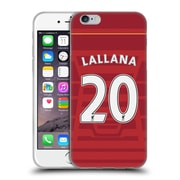 Official Liverpool Football Club Players Home Kit 16/17 Group 2 Lallana Soft Gel Case For Apple Iphone 6 / 6S