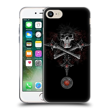 Official Anne Stokes Tribal Gothic Skull Soft Gel Case For Apple Iphone 7