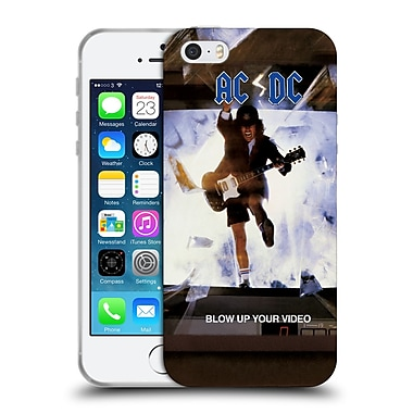 Official Ac/Dc Acdc Album Cover Blow Up Your Video Soft Gel Case For Apple Iphone 5 / 5S / Se