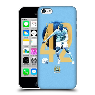 Official Manchester City Man City Fc Players Yaya Toura%Hard Back Case For Apple Iphone 5C