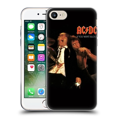 Official Ac/Dc Acdc Album Cover If You Want Blood Soft Gel Case For Apple Iphone 7