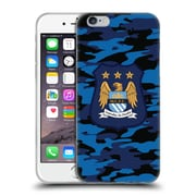 Official Manchester City Man City Fc Camou Away Colorways Soft Gel Case For Apple Iphone 6 / 6S