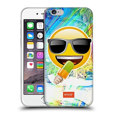 Official Emoji Solos Sunglasses Soft Gel Case For Apple Iphone 6 / 6S
