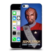 Official Star Trek Iconic Characters Ds9 Worf Hard Back Case For Apple Iphone 5C