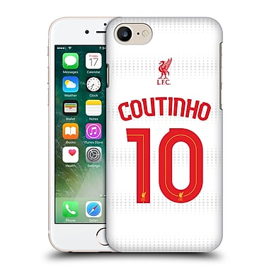 Official Liverpool Football Club Shirt Away Shirt White Coutinho Hard Back Case For Apple Iphone 7