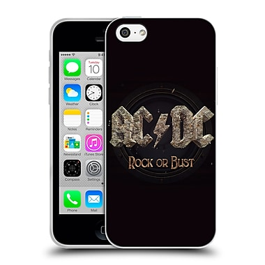 Official Ac/Dc Acdc Album Art Rock Or Bust Soft Gel Case For Apple Iphone 5C