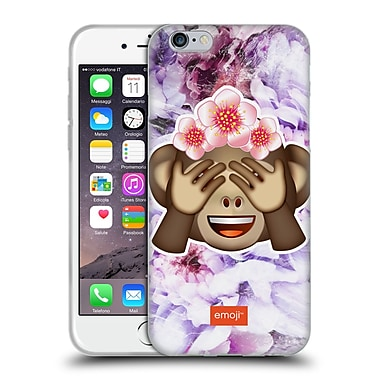 Official Emoji Solos Monkey Soft Gel Case For Apple Iphone 6 / 6S