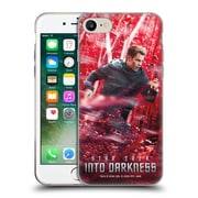 Official Star Trek Posters Into Darkness Xii Captain Kirk Soft Gel Case For Apple Iphone 7