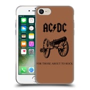 Official Ac/Dc Acdc Album Cover For Those About To Rock Soft Gel Case For Apple Iphone 7