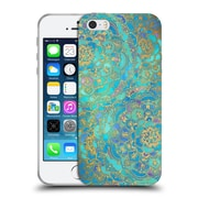 Official Micklyn Le Feuvre Mandala Sapphire And Jade Soft Gel Case For Apple Iphone 5 / 5S / Se