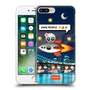 Official Emoji Photo Graphic Alien Hard Back Case For Apple Iphone 7 Plus