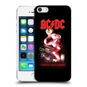 Official Ac/Dc Acdc Song Titles Whole Lotta Rosie Hard Back Case For Apple Iphone 5 / 5S / Se