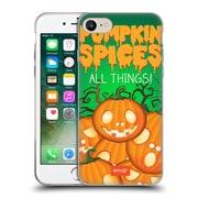 Official Emoji Halloween Parodies Pumpkin Spices Soft Gel Case For Apple Iphone 7