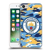 Official Manchester City Man City Fc Badge Camou Club Hard Back Case For Apple Iphone 7