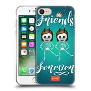 Official Emoji Halloween Parodies Friends Forever Soft Gel Case For Apple Iphone 7