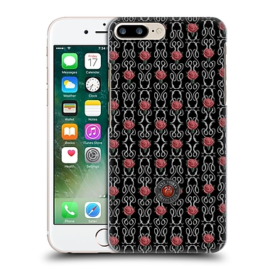 Official Anne Stokes Motif Patterns Vertical Rose And Swirl Hard Back Case For Apple Iphone 7 Plus