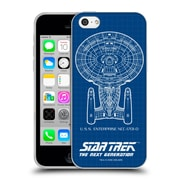 Official Star Trek Ships Of The Line Tng Uss Enterprise Ncc-1701-D Soft Gel Case For Apple Iphone 5C