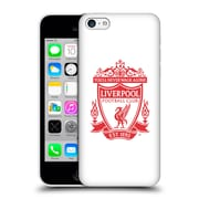 Official Liverpool Football Club Crest 2 White Hard Back Case For Apple Iphone 5C
