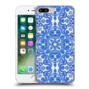 Official Micklyn Le Feuvre Floral Patterns Cobalt Blue And China White Hard Back Case For Apple Iphone 7 Plus