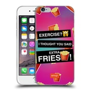 Official Emoji Food Extra Fries Soft Gel Case For Apple Iphone 6 / 6S