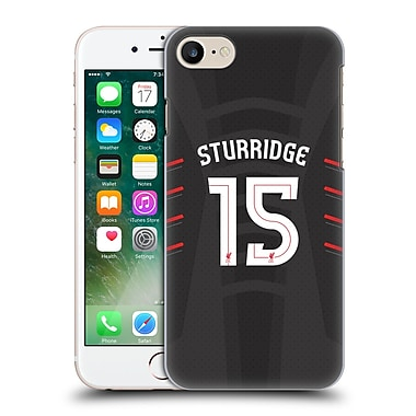 Official Liverpool Football Club Players Away Kit 16/17 Group 1 Sturridge Hard Back Case For Apple Iphone 7