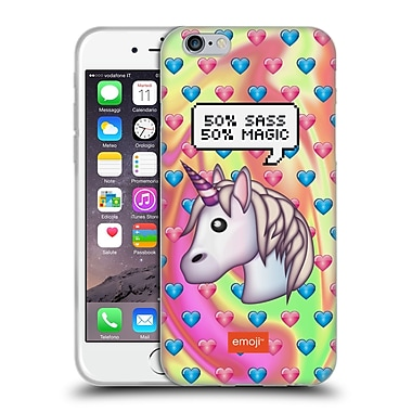 Official Emoji Speech Bubbles Sass And Magic Soft Gel Case For Apple Iphone 6 / 6S