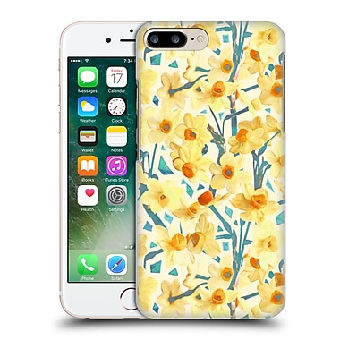 Official Micklyn Le Feuvre Florals 2 Yellow Jonquils Hard Back Case For Apple Iphone 7 Plus