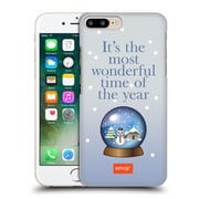 Official Emoji Winter Quotes Snow Globe Hard Back Case For Apple Iphone 7 Plus