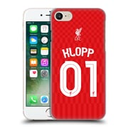 Official Liverpool Football Club Shirt Home Shirt Red Klopp Hard Back Case For Apple Iphone 7