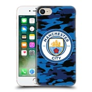 Official Manchester City Man City Fc Badge Camou Dark Blue Moon Hard Back Case For Apple Iphone 7