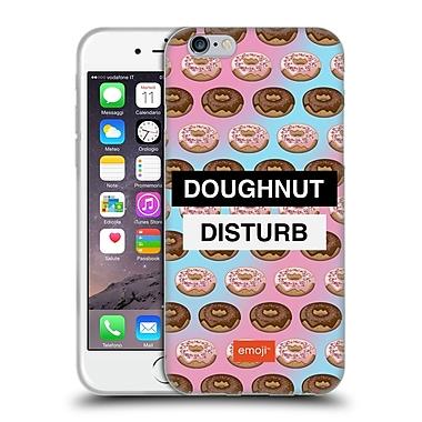 Official Emoji Food Doughnut Soft Gel Case For Apple Iphone 6 / 6S