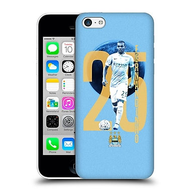 Official Manchester City Man City Fc Players Fernandinho Luiz Roza Hard Back Case For Apple Iphone 5C