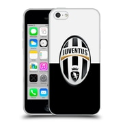 Official Juventus Football Club Crest Black And White Soft Gel Case For Apple Iphone 5C