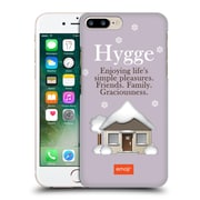 Official Emoji Winter Quotes Hygge Hard Back Case For Apple Iphone 7 Plus