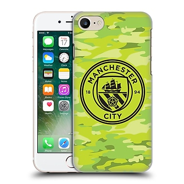 Official Manchester City Man City Fc Badge Camou Goalee Mono Hard Back Case For Apple Iphone 7