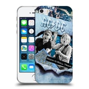 Official Ac/Dc Acdc Collage Rock And Roll Soft Gel Case For Apple Iphone 5 / 5S / Se