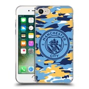 Official Manchester City Man City Fc Badge Camou Club Mono Soft Gel Case For Apple Iphone 7