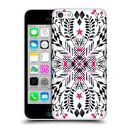Official Micklyn Le Feuvre Patterns 5 Winter Graphic Folk Art Hard Back Case For Apple Iphone 5C