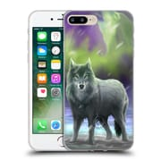 Official Anne Stokes Wolves Aura Soft Gel Case For Apple Iphone 7 Plus
