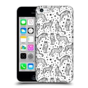 Official Micklyn Le Feuvre Patterns 5 Wolves And Stars Hard Back Case For Apple Iphone 5C