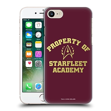 Official Star Trek Starfleet Academy Logos Property Hard Back Case For Apple Iphone 7